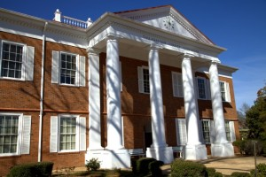 The Tallahatchie County Court House