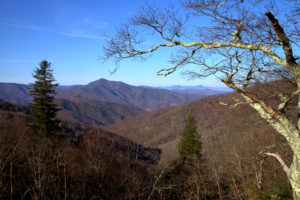 Smoky Mountains near Cherokee, NC