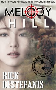 Melody Hill Book cover soldier looking at girl